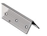 D100 Metal Corner Bead, 90° Outside, 12 ft. (25 pcs.)
