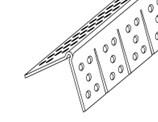 8' Trim-Tex Vinyl Corner Bead, Archway (4108)